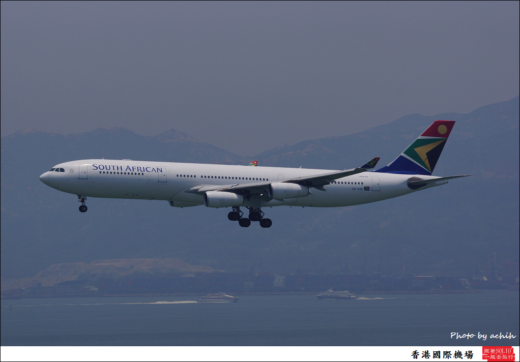 South African Airways ZS-SXF-002