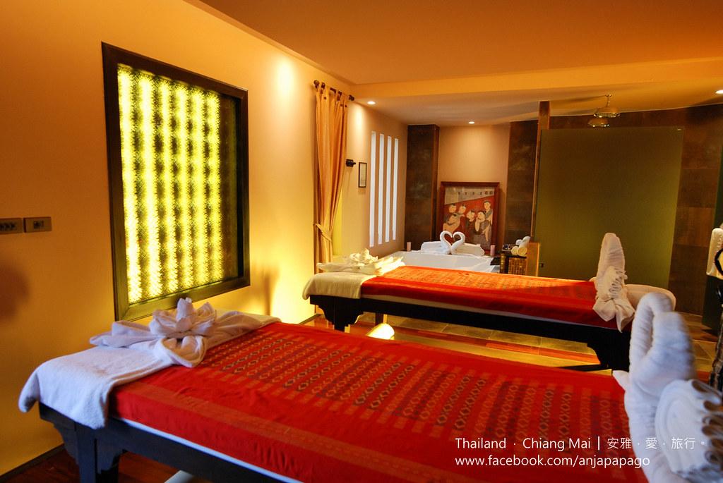 《清迈SPA按摩推荐》Siripanna Villa Resort & Spa Chiang Mai 酒店内的 Panna Spa。