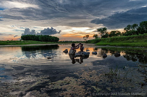 people india nature landscape westbengal santiniketan bolpur kopai somnathmukherjee