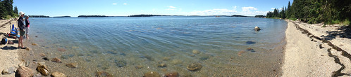 Brooklin beach panorama