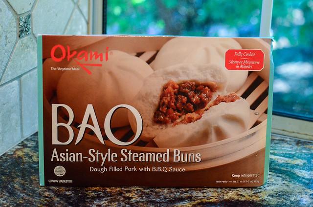 A box of frozen bao.