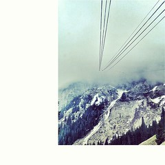 the cable car to infinity. PILATUS...