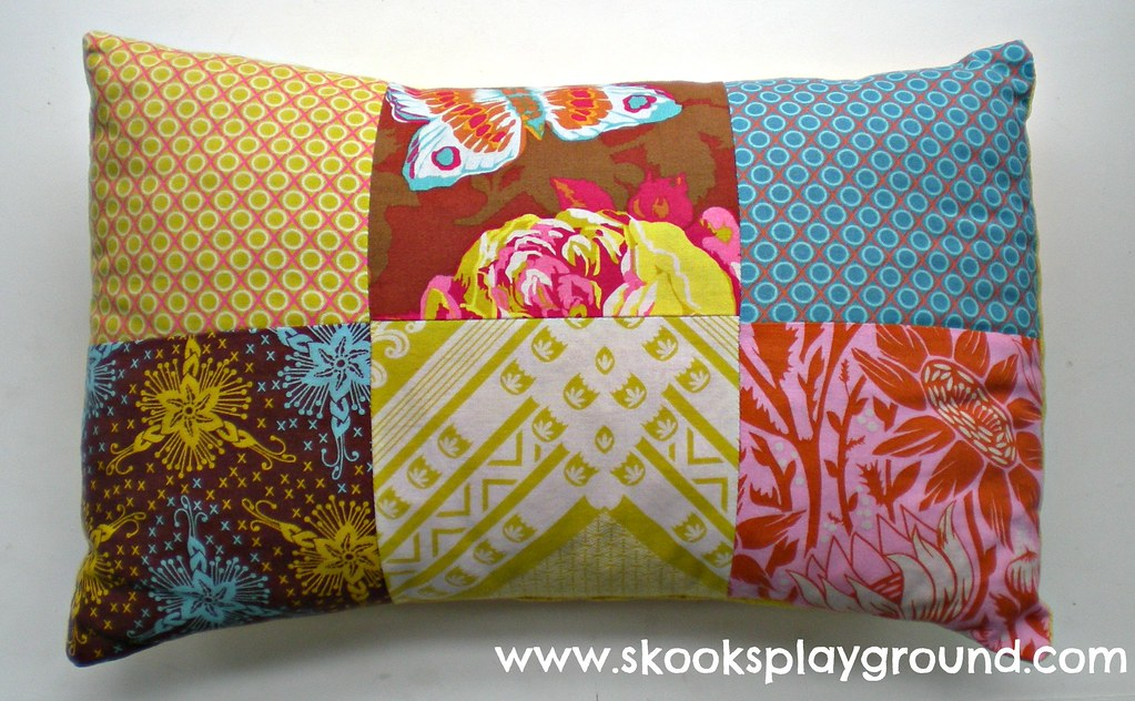 Patchwork Pillow A