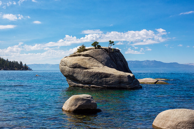 Late Morning At Bonsai Rock Lake Tahoe Flickr Photo Sharing