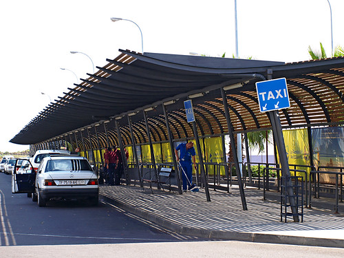 Taxi Stand, Tenerife South Airport