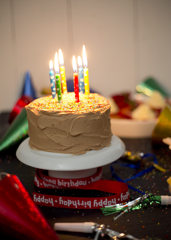 The Gluten Free Scallywag - Vanilla Birthday Cake