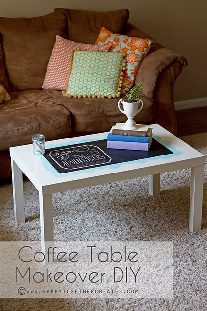 Coffe Table Makeover DIY