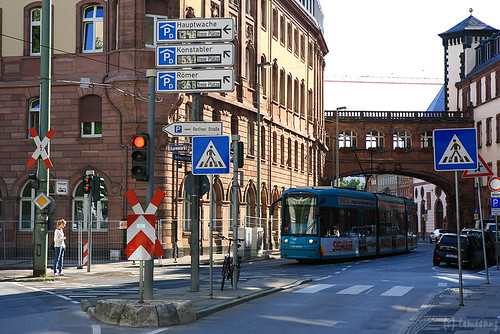 Street in Frankfurt