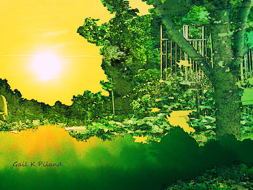 sky sun green nature landscape surreal september photoart hypothetical vividimagination artdigital greenscene thebestofday awardtree gailpiland ringexcellence netartii