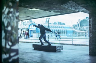Chewy Cannon - Backside Tailslide - Palace Skateboards - Southbank - May 2013