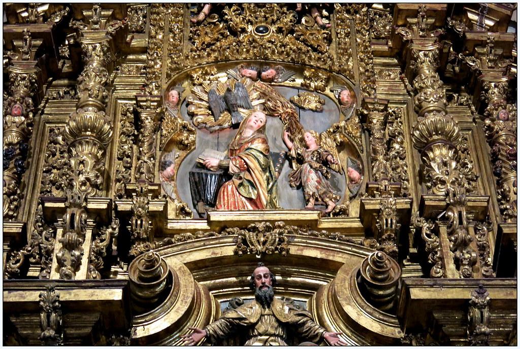 Iglesia parroquial de Luanco. Retablo