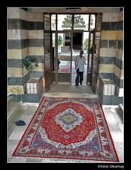 Şeyh Muhyiddin Camii Girişi (Şam - Suriye)