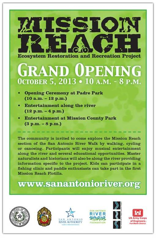 Mission Reach Grand Opening