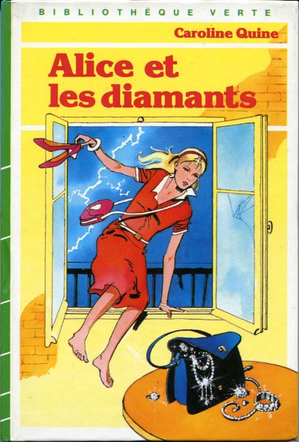 Alice et les diamants, by Caroline QUINE