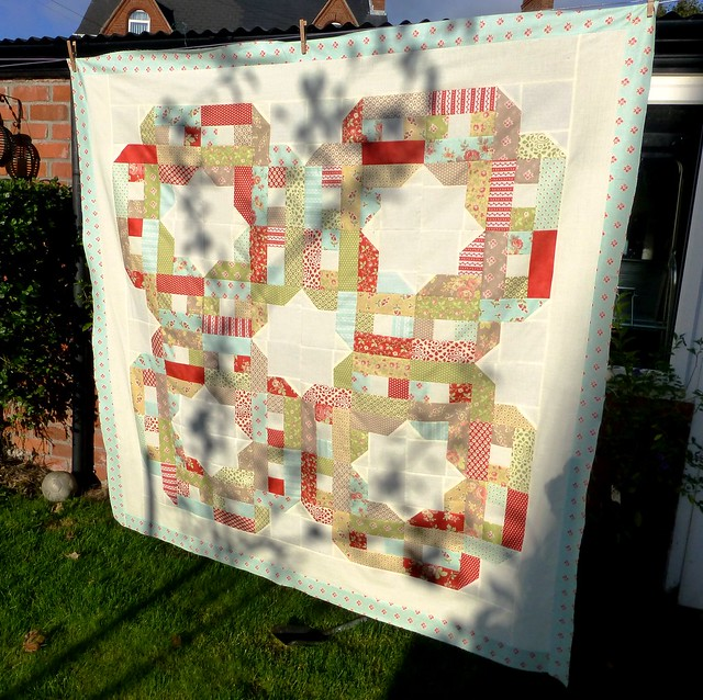 Overs and Unders quilt top