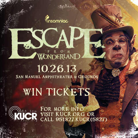 escape from wonderland 2013 ticket giveaway