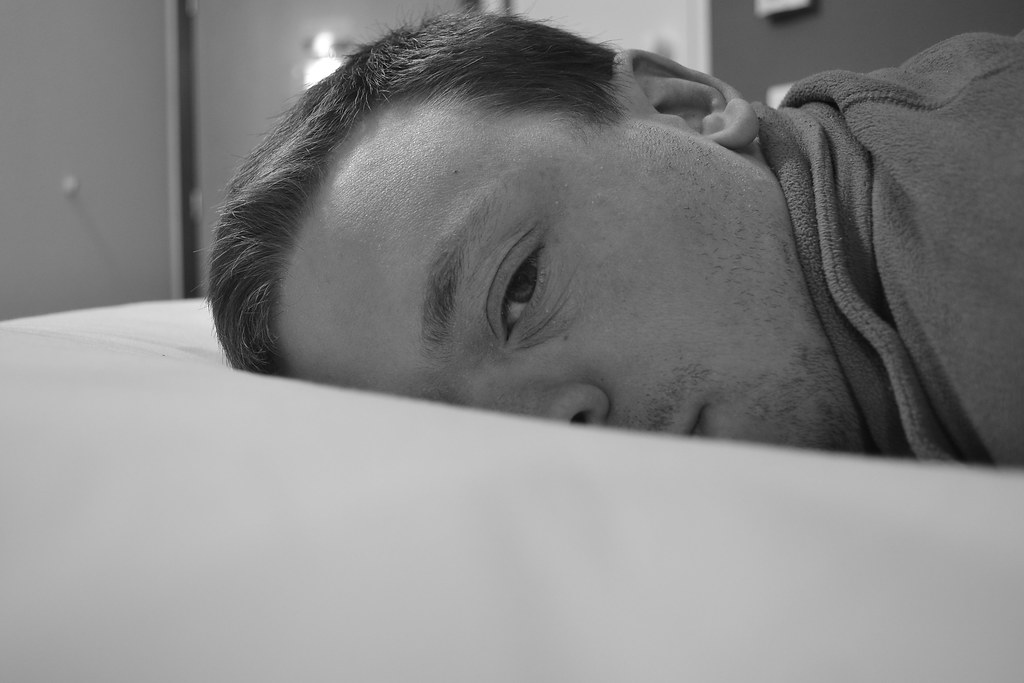 Man on a Bed