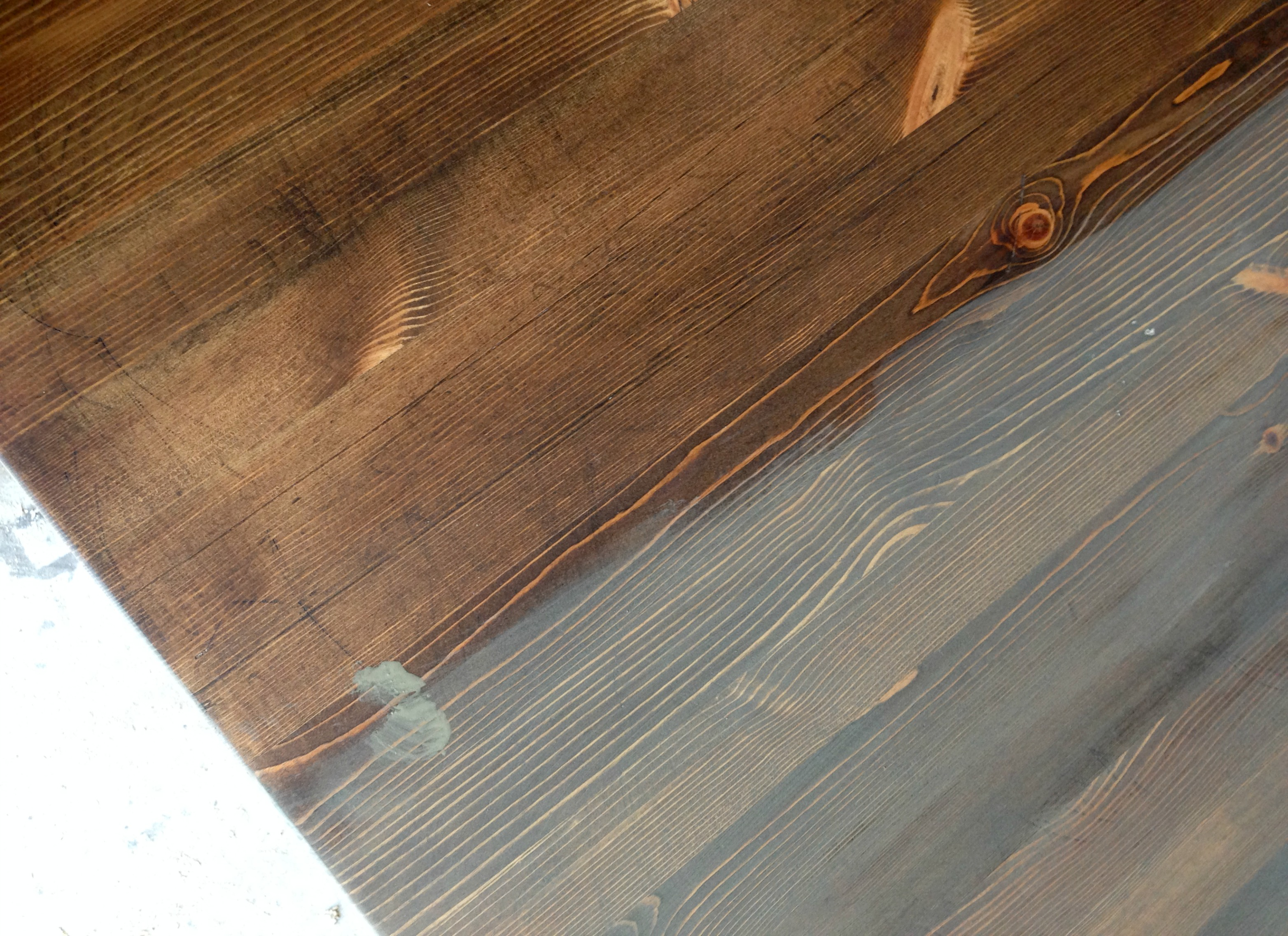 Turtles And Tails Smooth As Silk Refinished Table