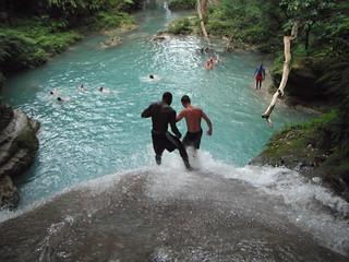 Blue Hole Waterfalls