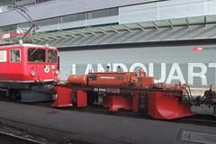 RhB - Train Snowplow