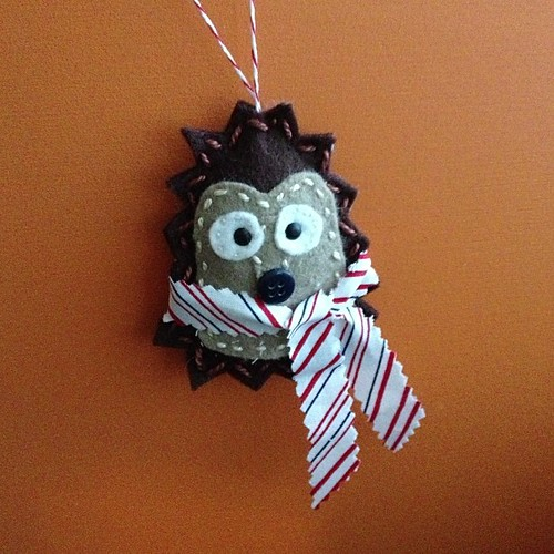 #trimthetree hedgehog anyone?