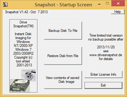 Drive SnapShot 1.42.16533 注册机