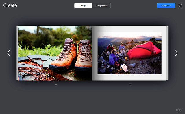 Create your book on Flickr