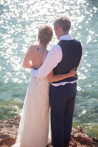 El Chiringuito Cala Gracioneta, Ibiza wedding venue 2013