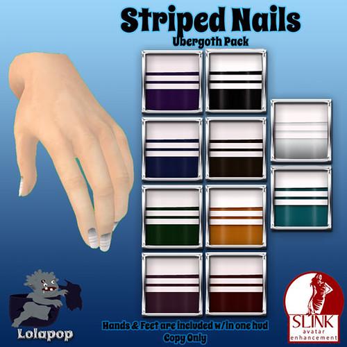 Lolapop-StripedNails-UberGothPack-Ad