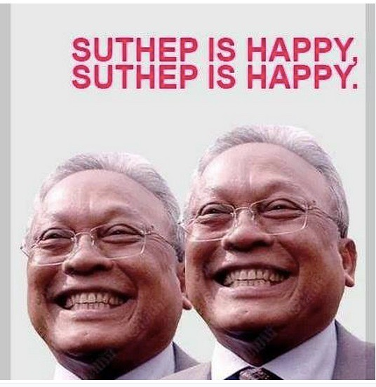 Suthep and Thaksin: Some light relief