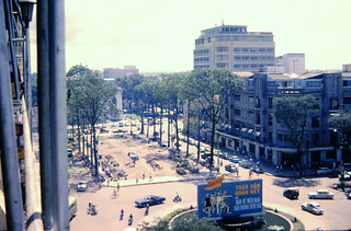 1966 Saigon from the Rex Hotel