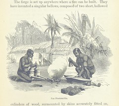 """British Library digitised image from page 149 of """"Explorations and adventures in Equatorial Africa; with accounts of the manners and customs of the people and of the chace of the gorilla, crocodile, leopard, elephant, hippopotamus and other animals. (Seco"""