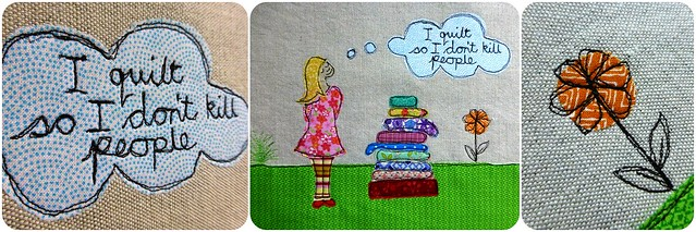 Applique picture for Ruth