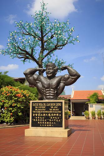 patung gangsa datuk wira dr gan boon leong