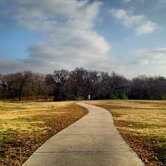| Who said the road to the top was a straight line | #Walkway #Path #Clouds #Skys #Sky #Trees #Grass #Mesquite #Texas #LongStarState #OpulentPhotos