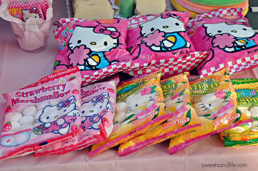 Hello Kitty Marshmallows