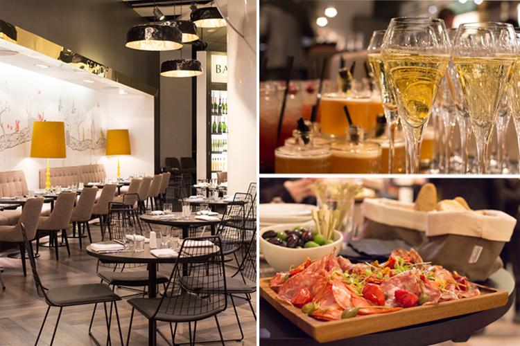 Searcys - Champagne and Anti Pasti