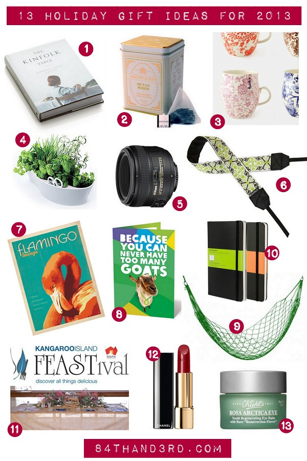 13 Holiday Gift Ideas for 2013