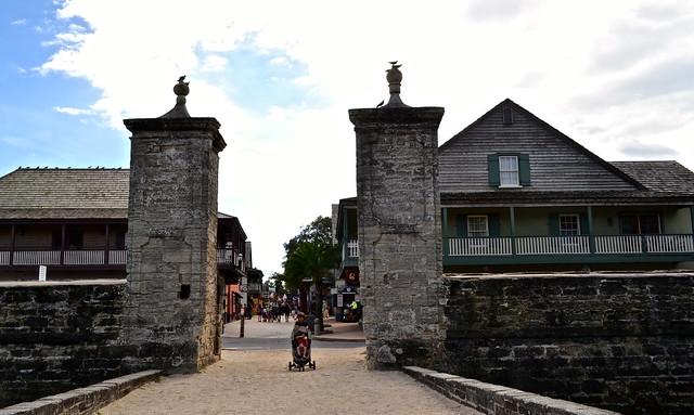 City Gates of St. Augustine, Florida - Educational Travel