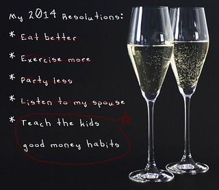 Resolve to Teach Your Kids Good Money Habits in 2014