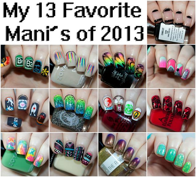13 Fav Mani's of 2013