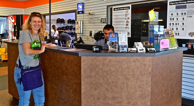 Eaglerider - Harley Davidson Motorcycles - reception area