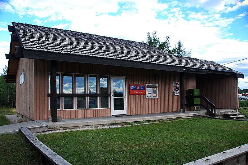 Post Office in 70 Mile House, Highway 97, Cariboo, British Columbia, Canada