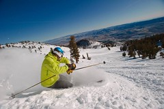 Mt. Rose powder turn (Mt. Rose-Ski Tahoe Facebook)