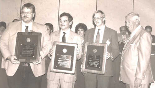 1989 Pittsburgh ANA John Burns, Rich Crosby, Wayne Homren, Steve Taylor