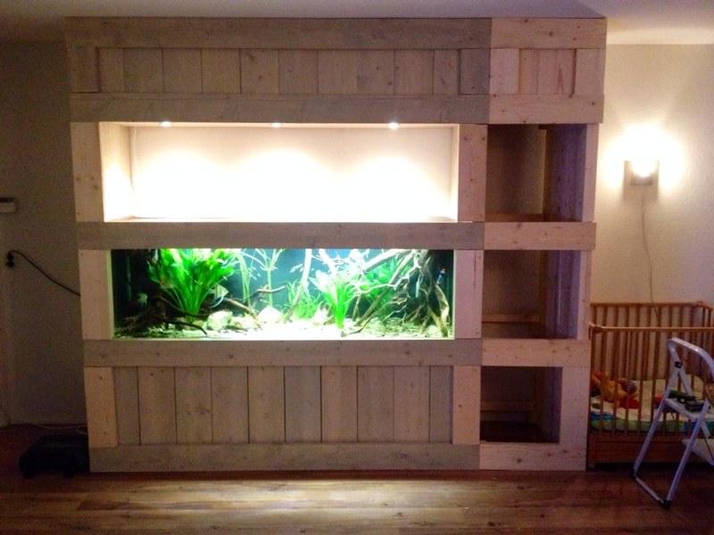 Design Aquarium Kast : Aquarium kast steigerhout @fa36 u2013 aboriginaltourismontario