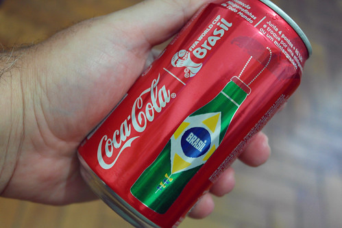 2014 Fifa Wolrd Cup Coca-Cola Metal Bottles Can Promo Brasil-Brazil by roitberg