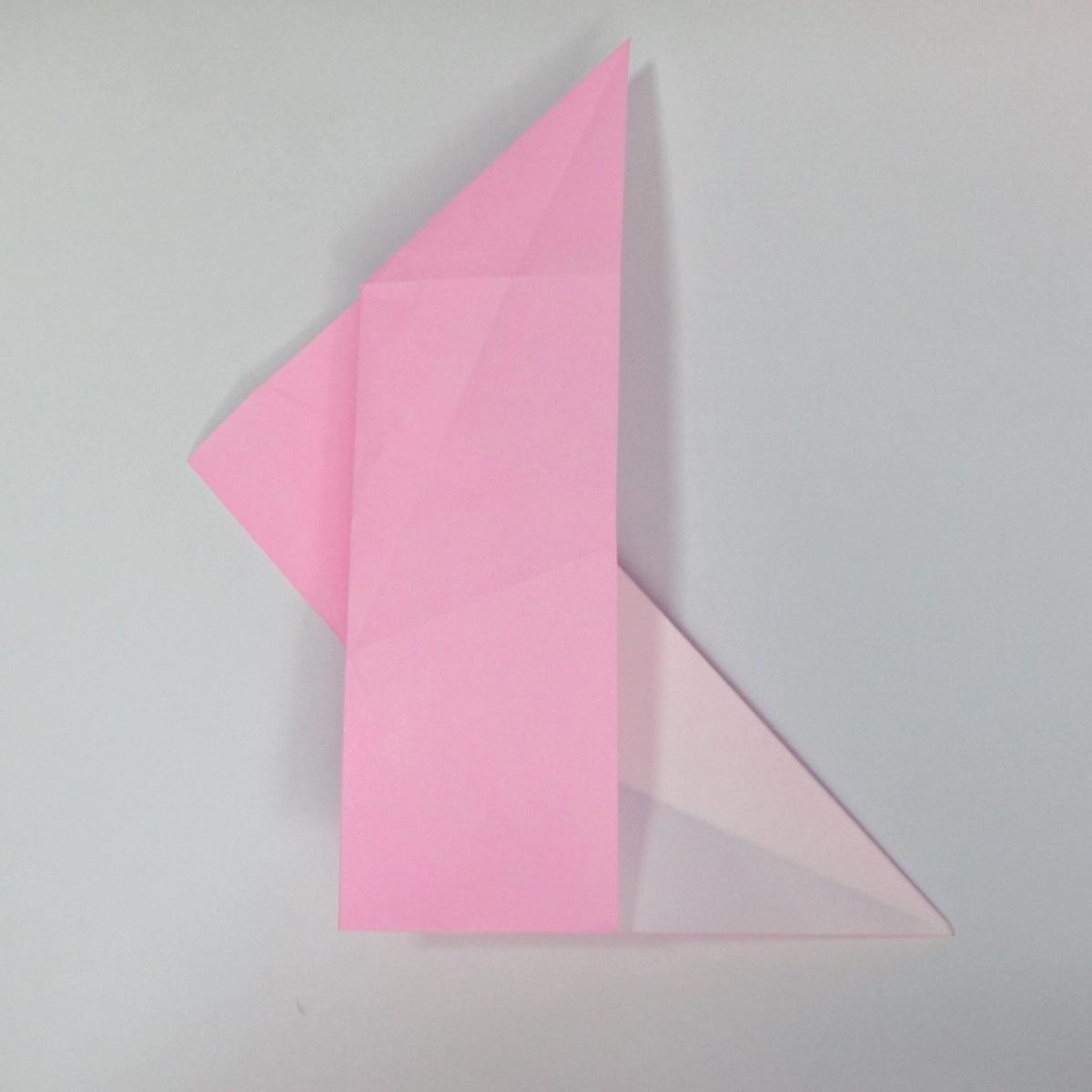 สอนการพับกระดาษเป็นลูกสุนัขชเนาเซอร์ (Origami Schnauzer Puppy) 023