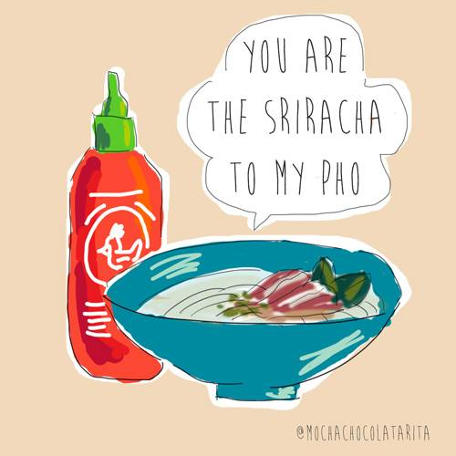 You Are the Sriracha to My Pho