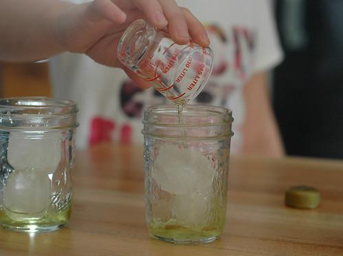 learning how to make Italian Soda's